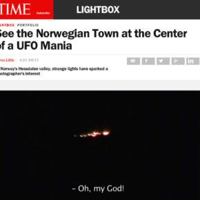 Ivar Kvaals prosjekt presentert på Time Lightbox