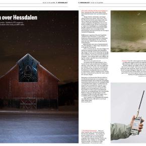 Seks sider Hessdalen i Morgenbladet