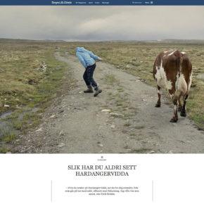 Eirik Brekkes prosjekt i Bergens Tidende